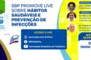 SBP divulga documento e promove live sobre a importância da hábitos saudáveis e prevenção de doenças